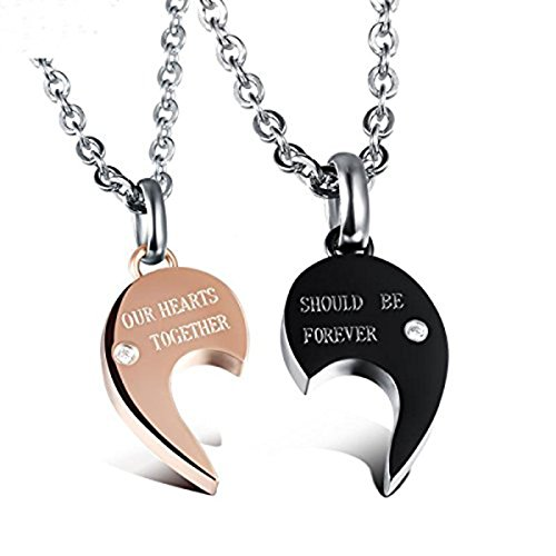 Feraco Matching Stainless Pendant Necklace