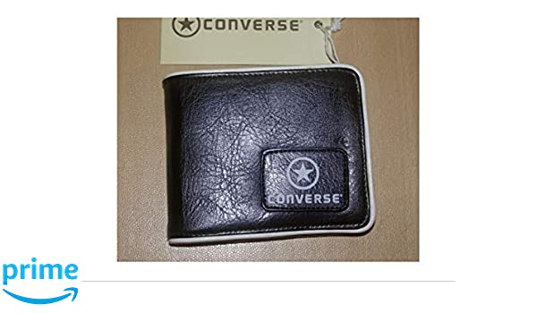 Converse Star - Cartera para Hombre Negro Negro Normal: Amazon.es: Equipaje