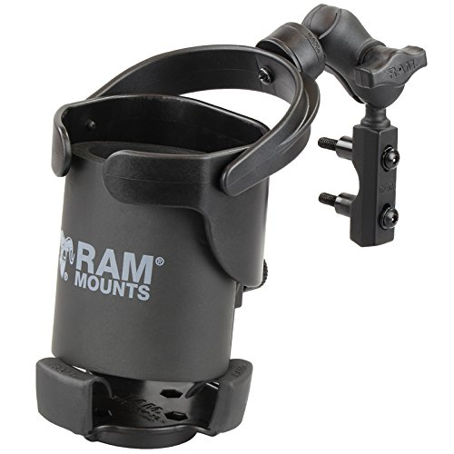 (RAM Mount RAM-B-174-A-417U Level Cup XL with Motorcycle)