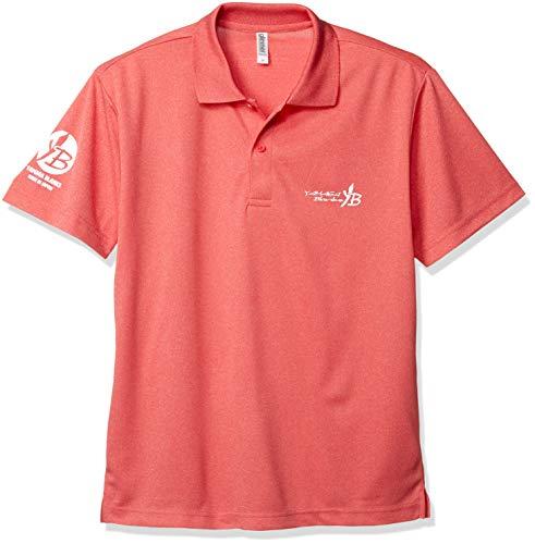 ヤマガブランクス (YAMAGA Blanks) 2019 YB 원래 드라이 폴로 셔츠 믹스 레드화이트 M / Yamaga Blanks 2019 YB Original Dry Polo Shirt Mix RedWhite M