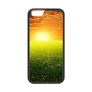 Flower iPhone 6 4.7 Inch Cell Phone Case Black zbjv