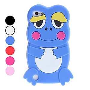 YXF 3D Design Cartoon Frog Pattern Soft Case for iTouch 5 (Assorted Colors) , Rose