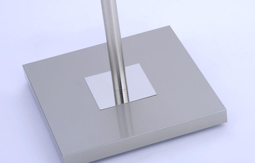 LED Deckenfluter dimmbar mit flexibler Leselampe und zweiteiligem ...
