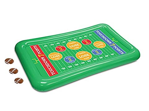 KOVOT Inflatable Football Toss Game - A Fun Game For The Entire Family And At Tailgate Parties ()