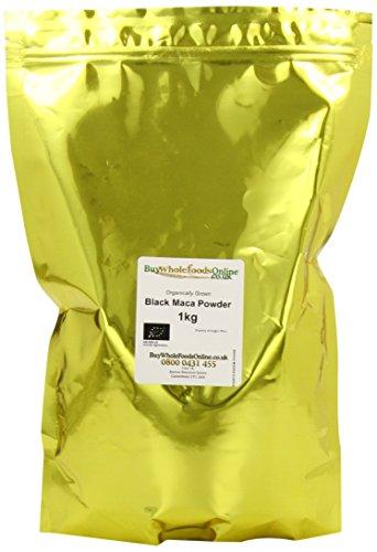 Organic Black Maca Powder 1 Kg by GroceryLand