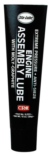 CRC SL3331 Extreme Pressure Engine Assembly Lube, 10 Wt (Moly Lube)