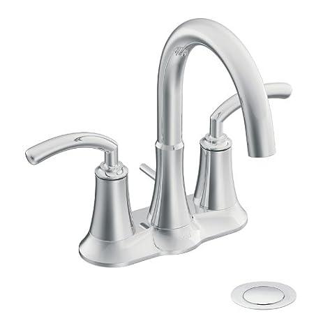 Moen Icon TwoHandle High Arc Bathroom Faucet Chrome Not CA - Moen icon bathroom faucet for bathroom decor ideas