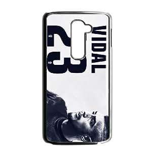 LG G2 Cell Phone Case Black Arturo Vidal BNY_6975479