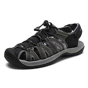 DREAM PAIRS Men's 160912-M-NEW Adventurous Summer Outdoor Sandals