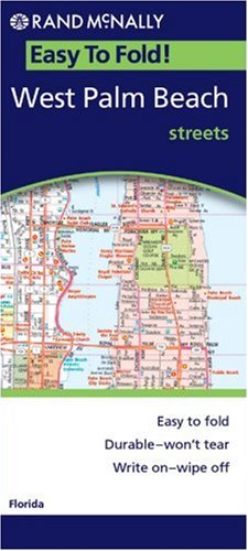 Rand McNally West Palm Beach, Florida: Local Street Detail (Easyfinder Maps)