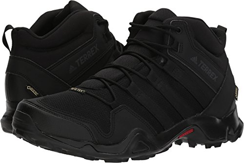 store new appearance latest discount adidas outdoor Terrex AX2R Mid GTX Hiking Boot - Men's Black/Black/Black,  7.5