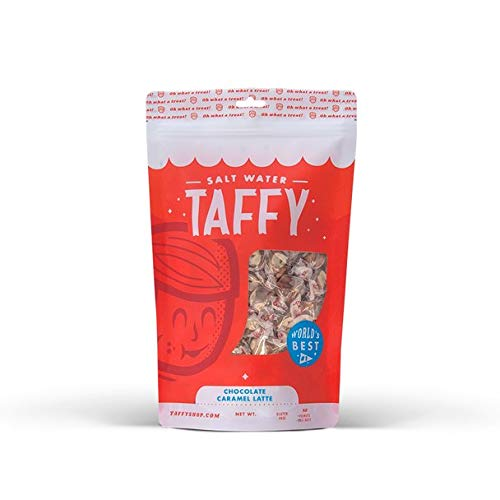 Taffy Shop Chocolate Caramel Latte Salt Water Taffy - 1/2 LB Bag