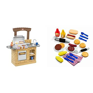 Little Tikes Cook 'n Play Outdoor BBQ and Grillin' Goodies Bundle