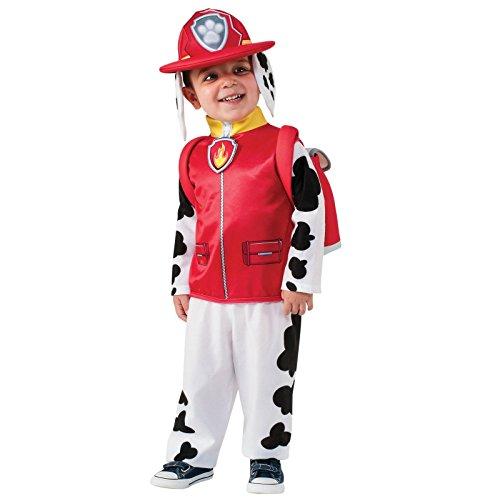 Nickelodeon Paw Patrol Childrens Costume Marshall 3T - 4T (Marshall Paw Patrol Costume)