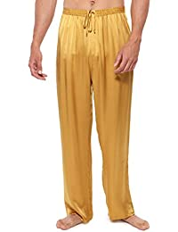Men's Luxury Silk Pajama Pants (Hiruko) Comfortable Sleepwear by TexereSilk