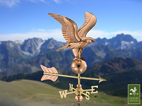 Good Directions 8815pr Eagle Cottage Weathervane Polished