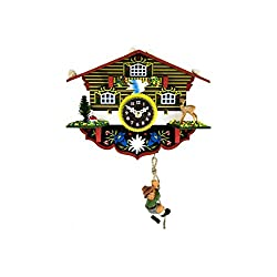 Hermle 57000 Wulfric Black Forest Cuckoo Clock