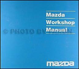 2000 mazda protege repair shop manual original mazda amazon com books rh amazon com 2000 Mazda Protege DX 2000 mazda protege service manual pdf