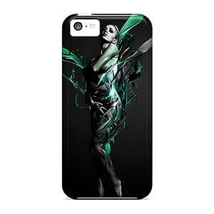 Defender Case For Iphone 5c, Model Photo Manipulation Pattern