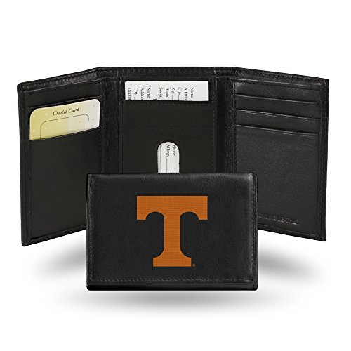 NCAA Licensed Trifold Wallet Tennessee Volunteers - Licensed Embroidered Tri Fold