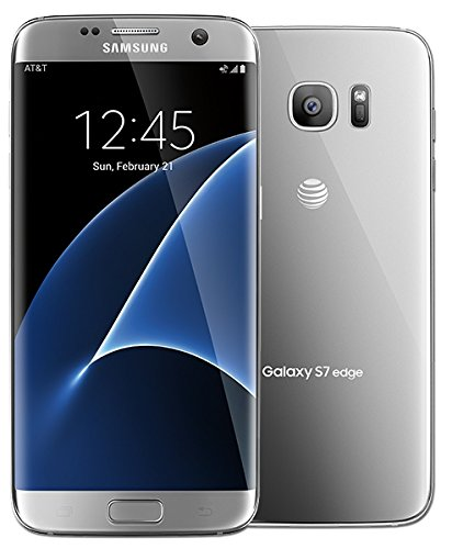 Samsung Galaxy S7 Edge 32GB G935A GSM Unlocked (Renewed) (Silver)