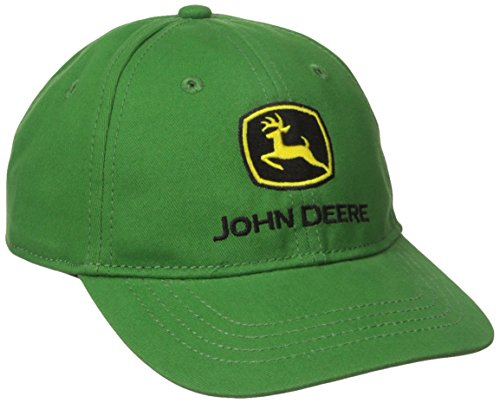 John Deere Little Boys' Trademark Baseball Cap, Green, One Size John Deere Youth Cap