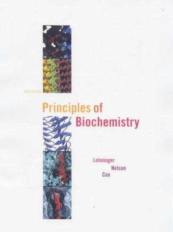 lehninger principles of biochemistry 5th edition solutions manual