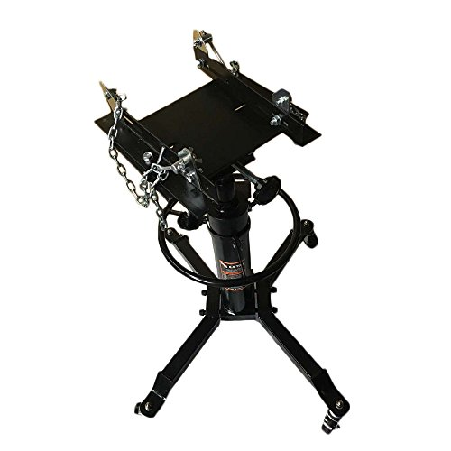 SUNROAD 2 Stage Hydraulic Transmission Jack 1100lbs Lift Hoist Foot Pump Spring Loaded with 360°Swivel - Jack Lift Transmission