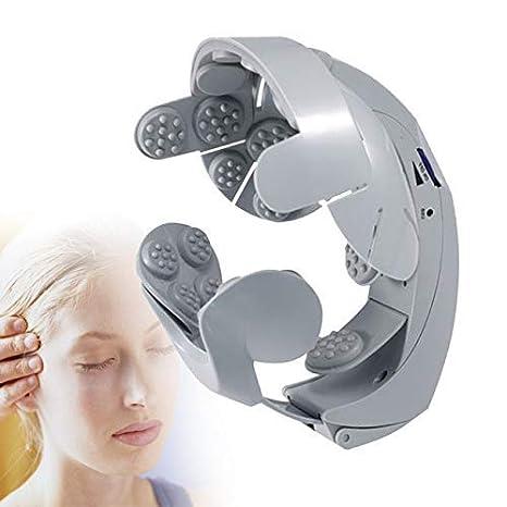 SNAPCOM Health Care Smart Scalp Helmet Relax Acupuncture Points