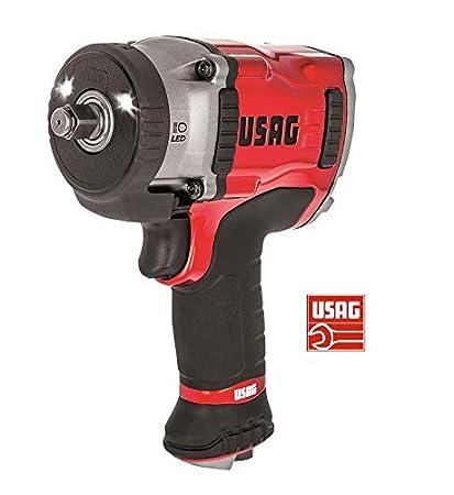 usag 943 PC1 1/2 atornillador Neumático A impulsos de magnesio – Top de gama