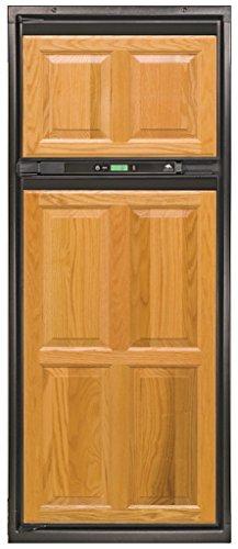 8 cu. ft. 2 Door Refrigerator (Enhanced 3-Way AC/LP/DC, Left Hand Door with LED Clear Bin Fan) - Norcold NXA841.3FL