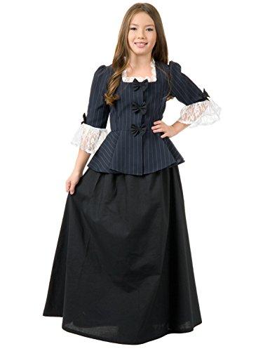 Charades Child's Colonial Girl Costume Dress