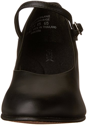 Capezio 550 Junior Footlight, Black, 7.5 UK (9.5 US)