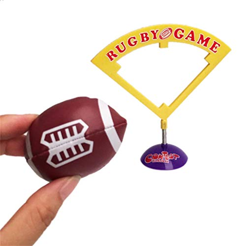 (Euone  Table Game Ideal Party Table Rugby Game Desktop Match Funny Toy Mini School Toy)