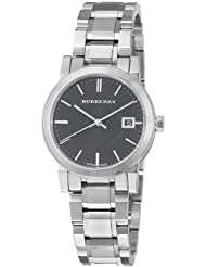 Burberry Womens BU9101 Large Check Stainless Steel Bracelet Watch