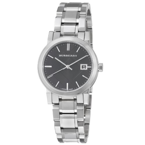 Burberry Women's BU9101 Large Check Stainless Steel Bracelet Watch