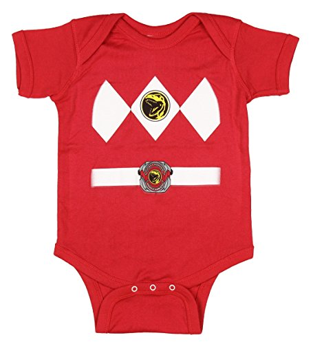 Power Rangers Red Baby Ranger Costume
