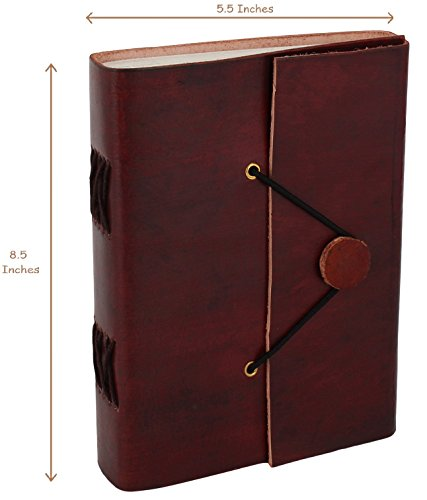 Handmade Vintage Leather Journal Easy to Carry Journals to Write in gifts for him her men women sale