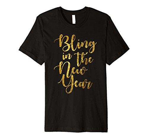 PREMIUM Bling in The New Year Shirt Womens New Years Eve Tee