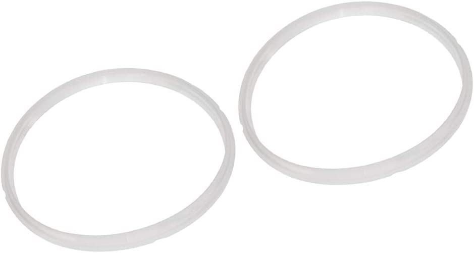 LOVIVER Lot Of 2, Silicone Sealing Rings Gasket Replacement 10L/12L Pressure Cooker