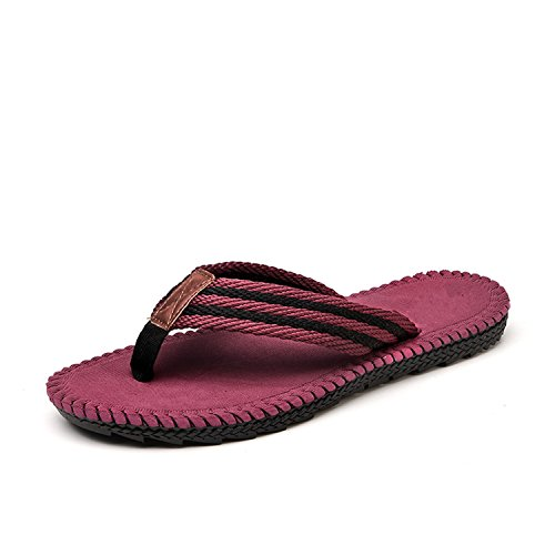 de Rojo Hombre Zapatillas Cool de Playa Sandalias Chanclas Botia Cómodas Verano Sandalias YxZ1TnT