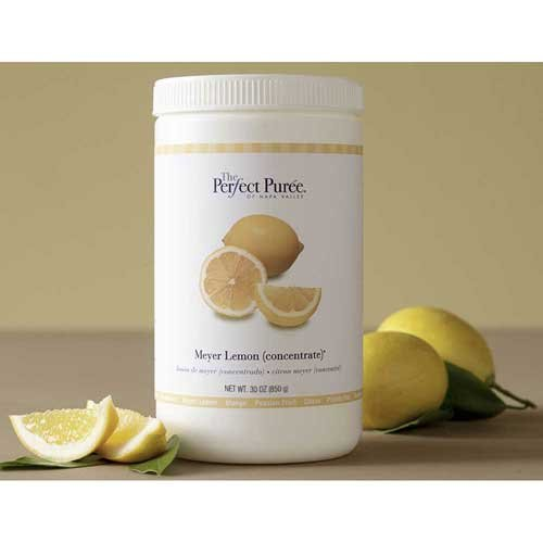 The Perfect Puree Meyer Lemon Concentrate Puree, 30 Ounce -- 6 per case. by Perfect Puree