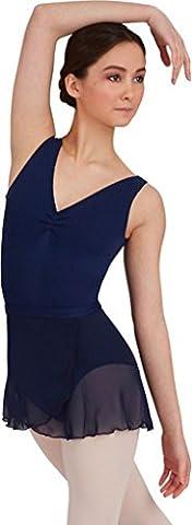 Capezio Dance Women's Wrap Skirt,Navy,US XS/S - Capezio Wrap Skirt
