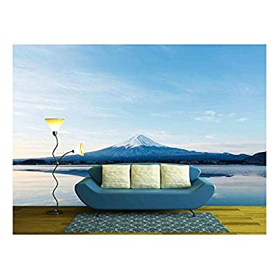 an Inverted Image of Mt Fuji - Wall Murals