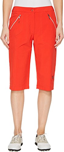 Jamie Sadock Women's Airwear Light Weight 24 In. Knee Capri Hot Chili 6 by Jamie Sadock