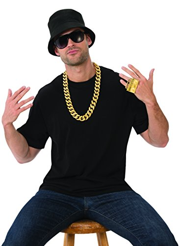 (Rubie's Men's Deluxe Adult Accessory Kit, Rapper, One)