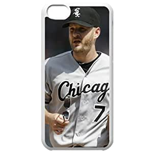 MLB Iphone 5C White Chicago White Sox cell phone cases&Gift Holiday&Christmas Gifts NBGH6C9126416 by heywan