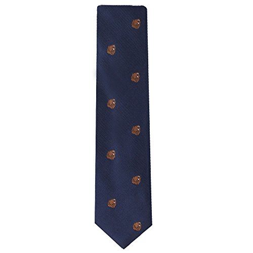 Bear Tie | Bear Market Wall Street Ties | Banker Gift for Men | Work Ties for Him | Birthday Gift for Guys (Brown Bear) by AUSCUFFLINKS (Image #3)