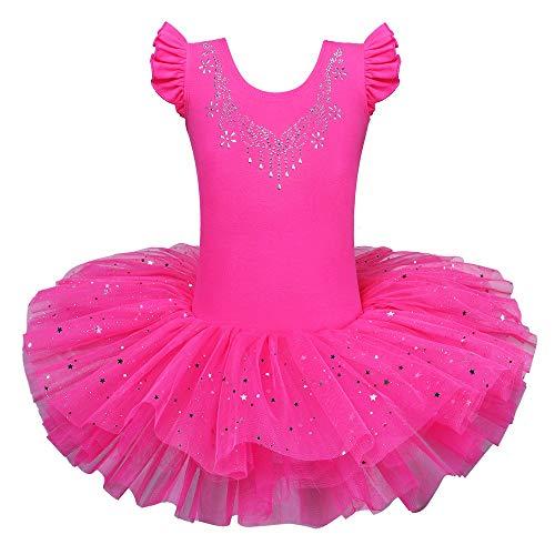 Dancing Stars Costumes - BAOHULU Ballet Leotards for Girls Full Skirted Dance Tutu Dress Party Costumes