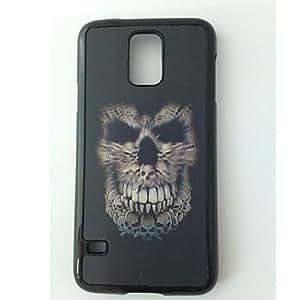 QHY Samsung S5 I9600 compatible Cool Skulls Plastic Back Cover